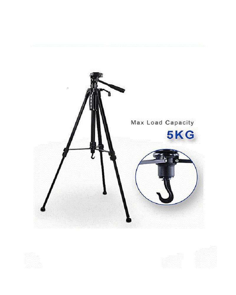 Weifeng Professional Camera Tripod Wt-3520 - Black