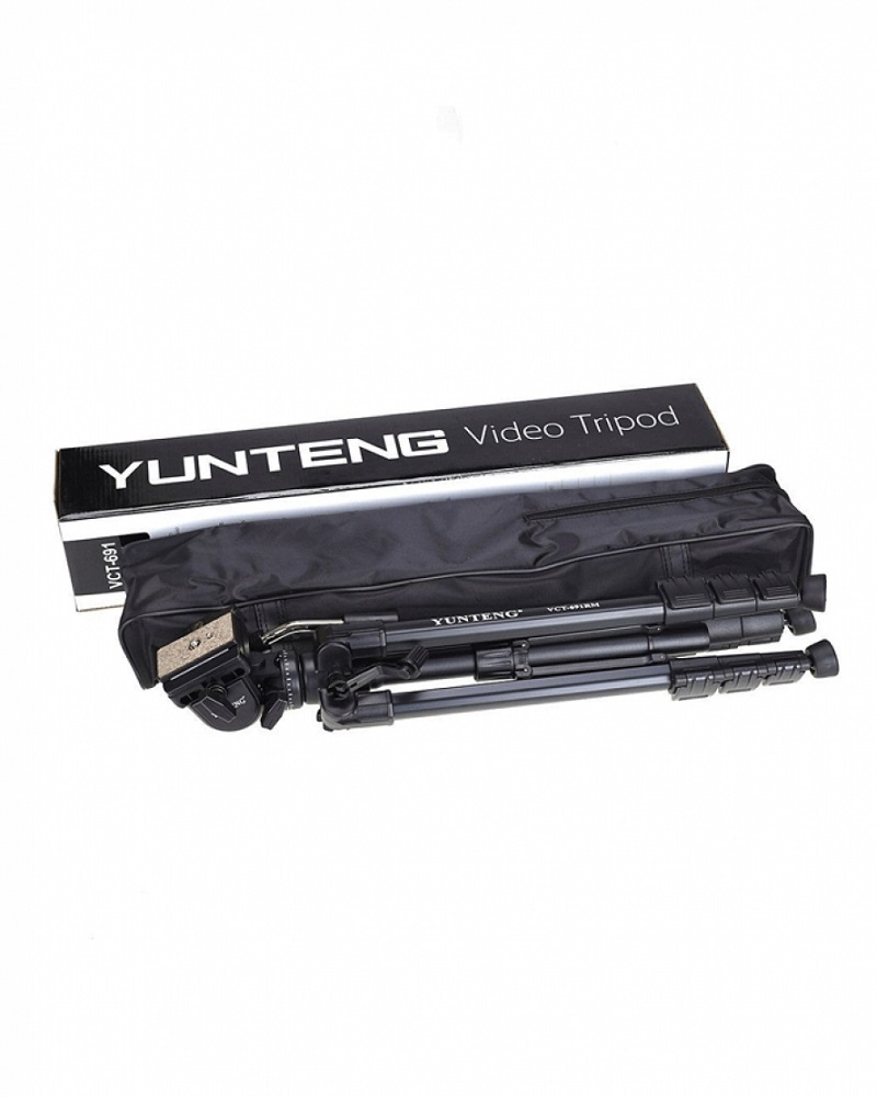 Yunteng Professional Tripod Stand VCT-691 - Black