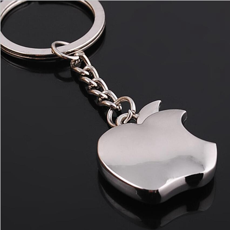 Apple Key Chain Metal Creative Key Chain