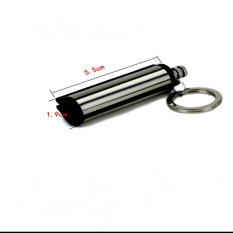 Outdoor Emergency Flint Fire Starter Key Ring
