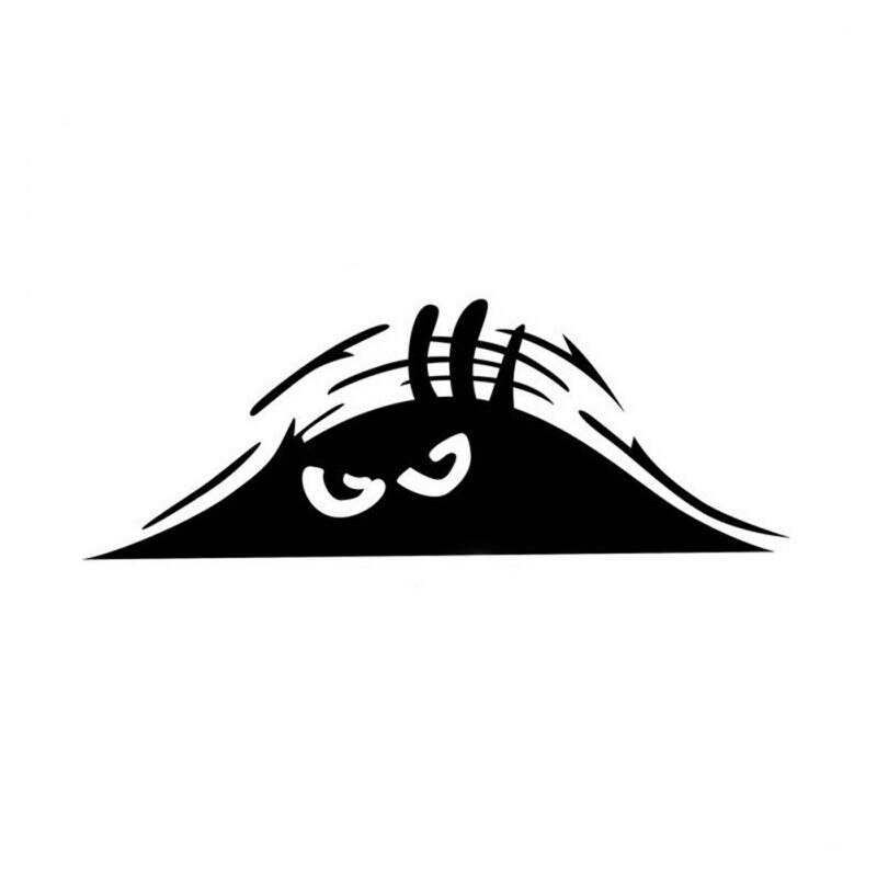Creative 3D Peeking Monster  Big Eyes