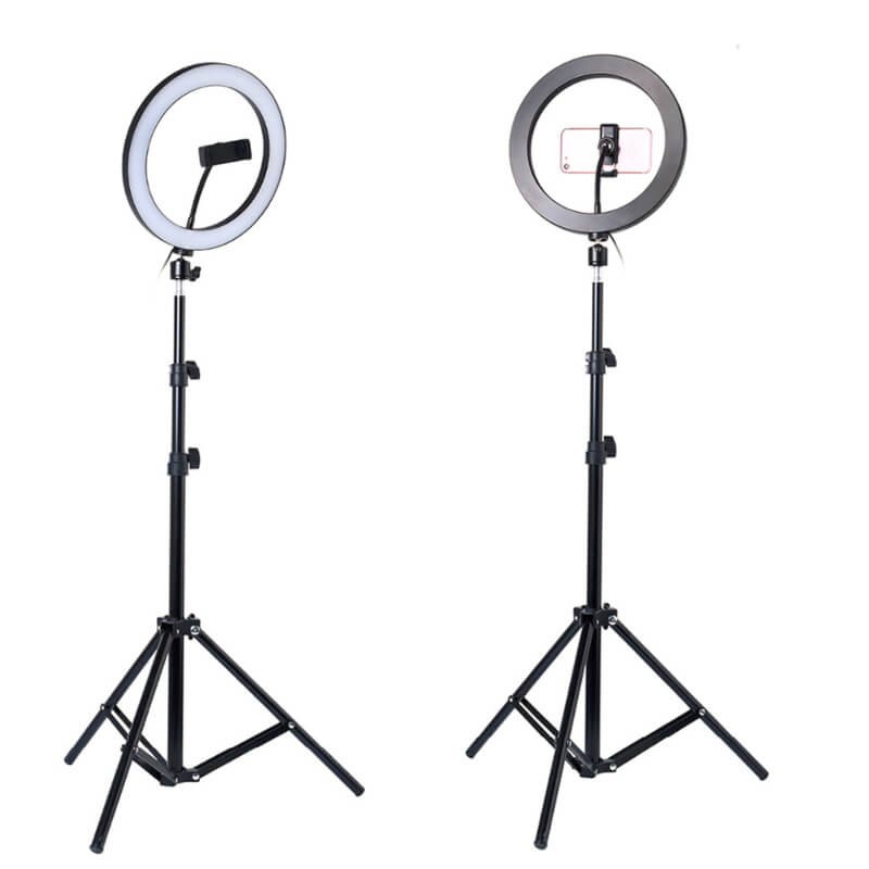 26cm Ring Light with 2.1M Adjustable Tripod Stand