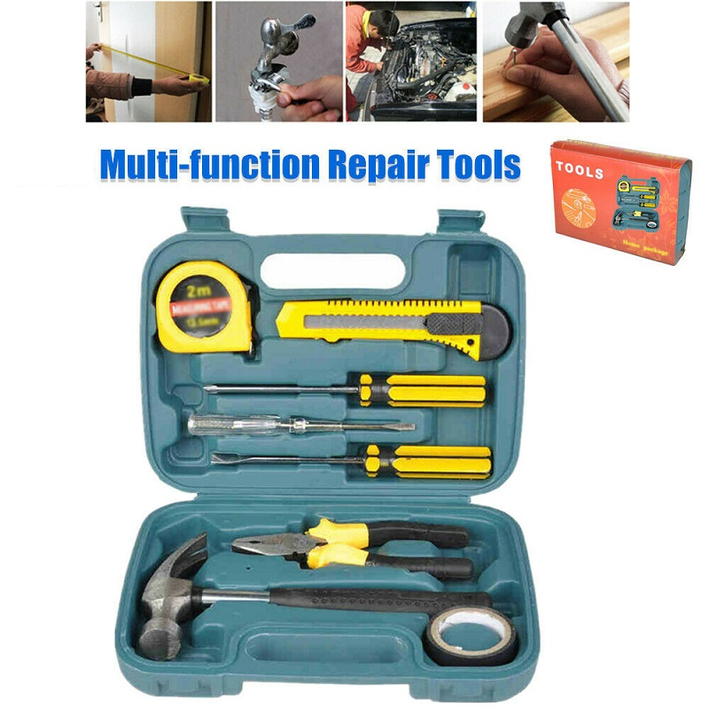 8 Pc Multi-Function Car Repair Emerg ency Tool Kit
