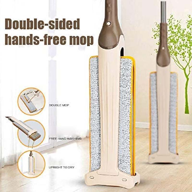 Double Sided Lazy Mop 360 Degree Floor Cleaning Mop