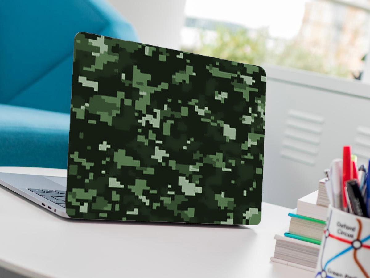 Universal Laptop Skin Camouflage Texture