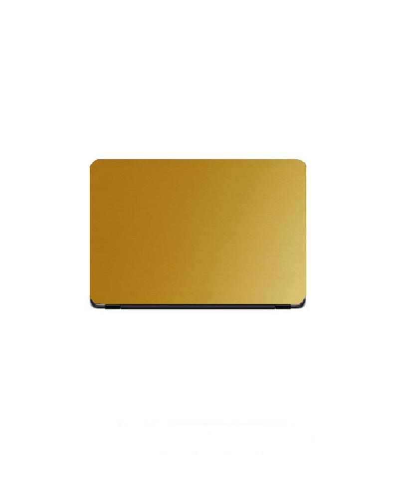 Universal Laptop Back Skin Matte Texture - Golden