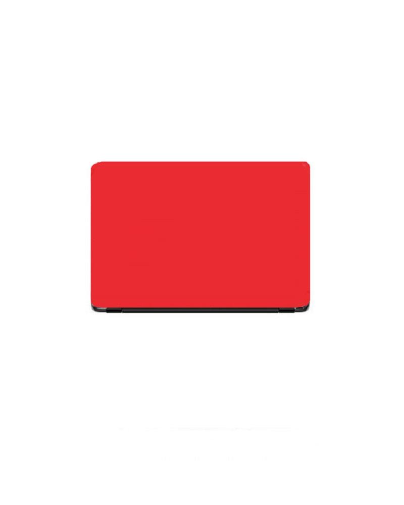 Universal Laptop Back Skin Matte Texture - Red