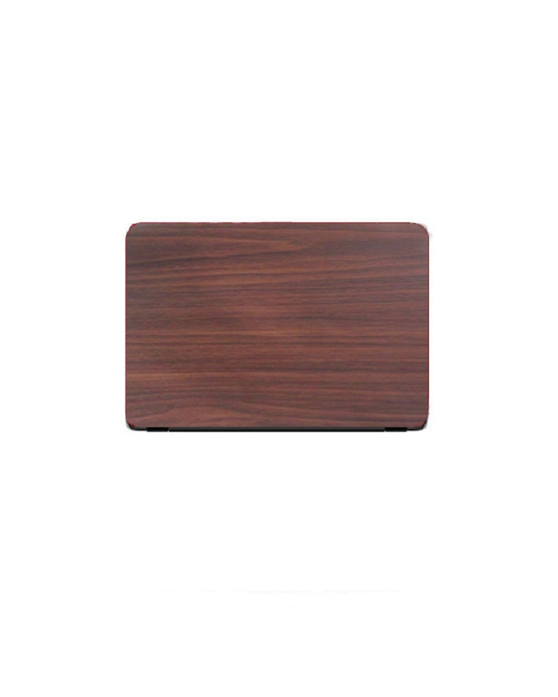 Universal Laptop Back Skin Wooden Texture - Brown