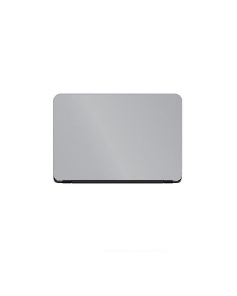 Universal Laptop Back Skin Matte Texture - Silver