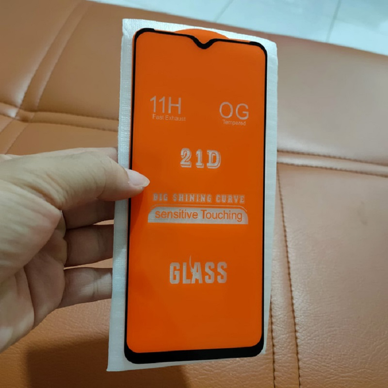 INFINIX HOT 9 PLAY TEMPERED GLASS COVER 21D