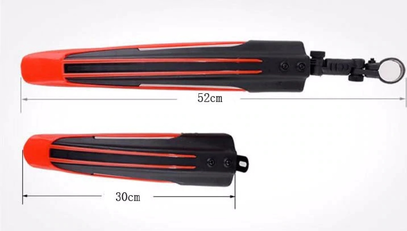 1 Set Fold Able Bicycle Front Rear Mud Fenders