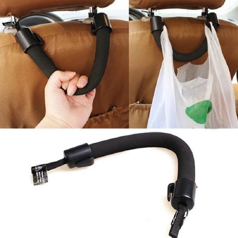 1Pc Soft Car Seat Back Headrest Hanger