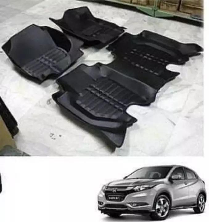 Hon da Vez el 2013-2020 5D Custom Floor Mats - Black