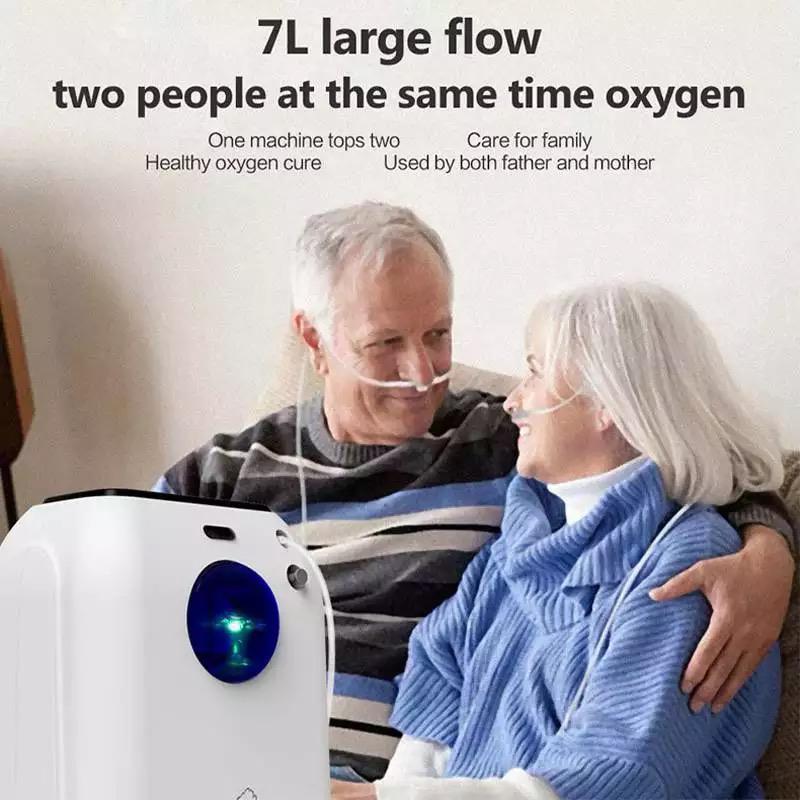 7L Remote Control Oxygen Making Machine