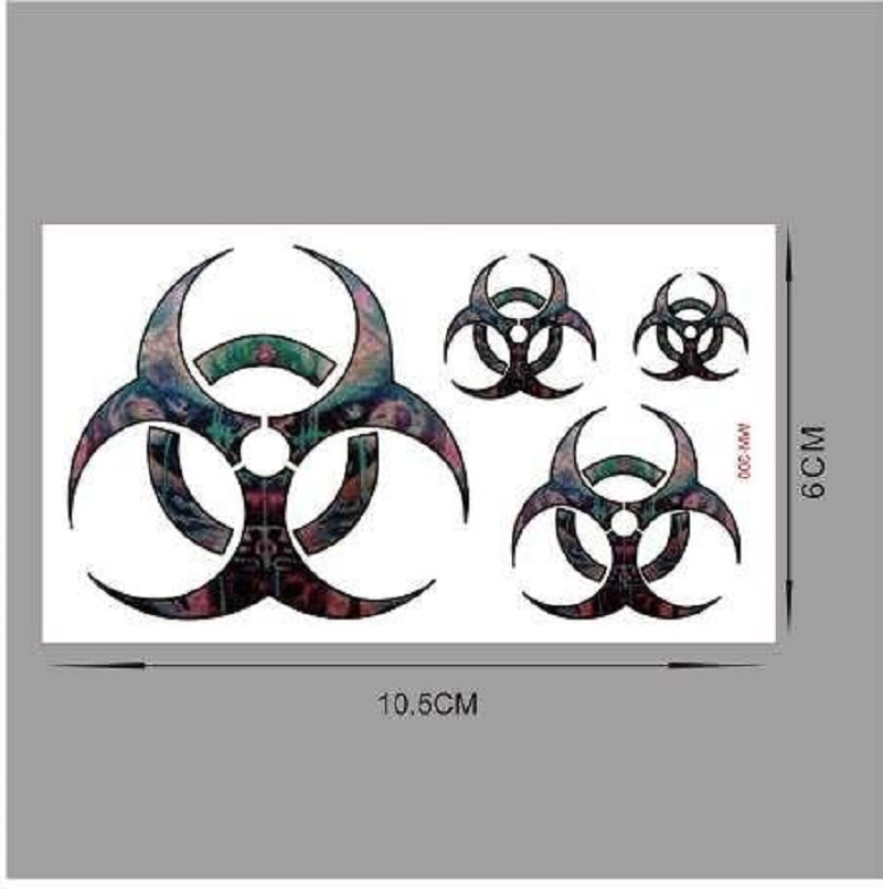 Pack of 5 Tattoos Sheets Deal 1