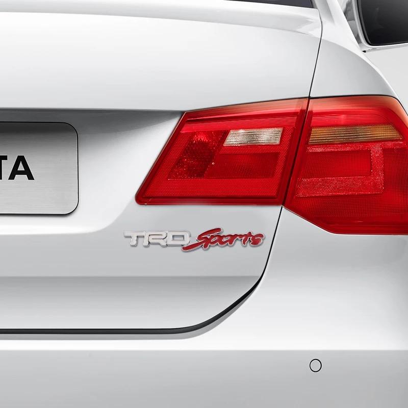 3D Metal T R D Sports Car Logo