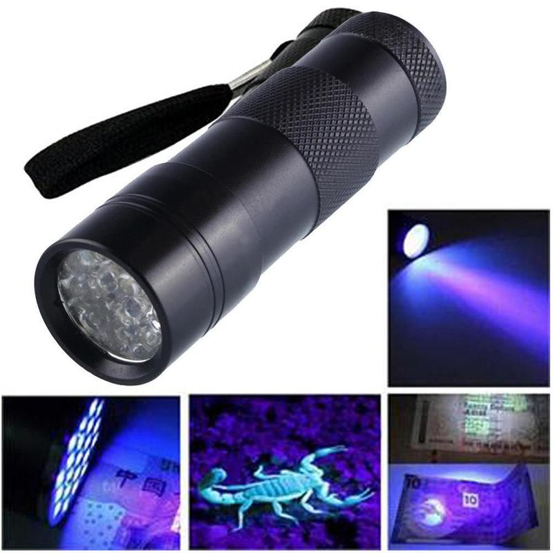 12 Led Portable Ultraviolet Flashlight