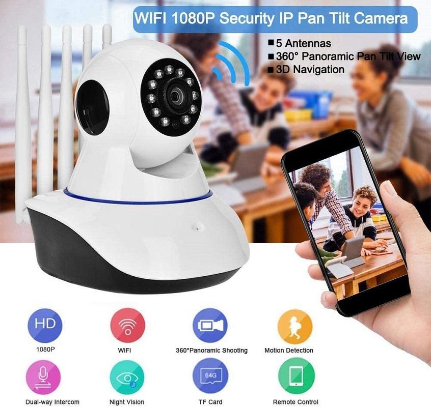 Color Vision Camera 5 Antenna 2mp 1080p FULL HD