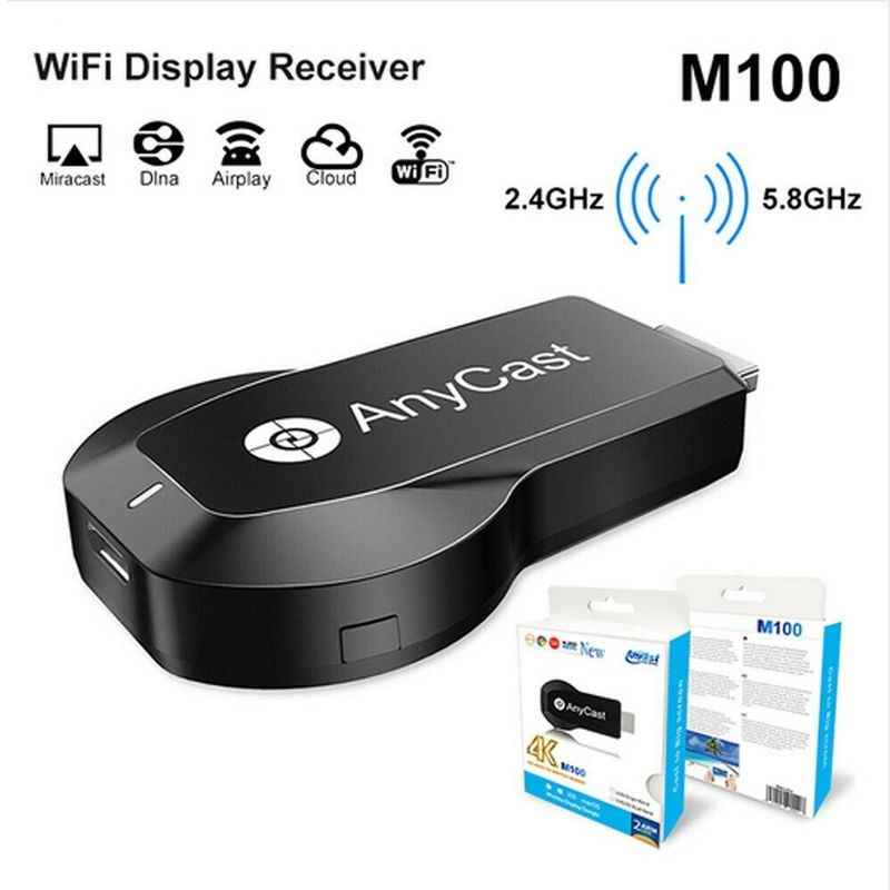 4K M100 ANYCAST HDMI DONGLE WITH REAL 4K CPU RK3229
