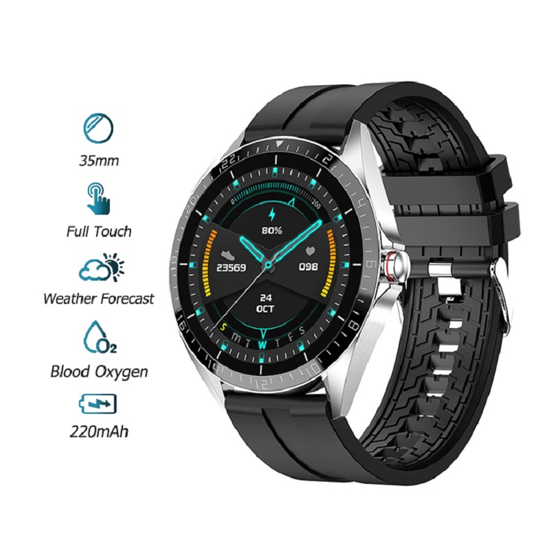 GW16 Smartwatch Heart Rate Monitor Blood Pressure Sleep Monitoring Incoming Call Weather Display Android IOS