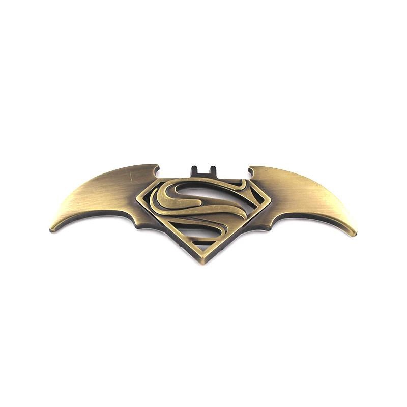 HOT 3D Metal Bat Logo Car Styling Stickers