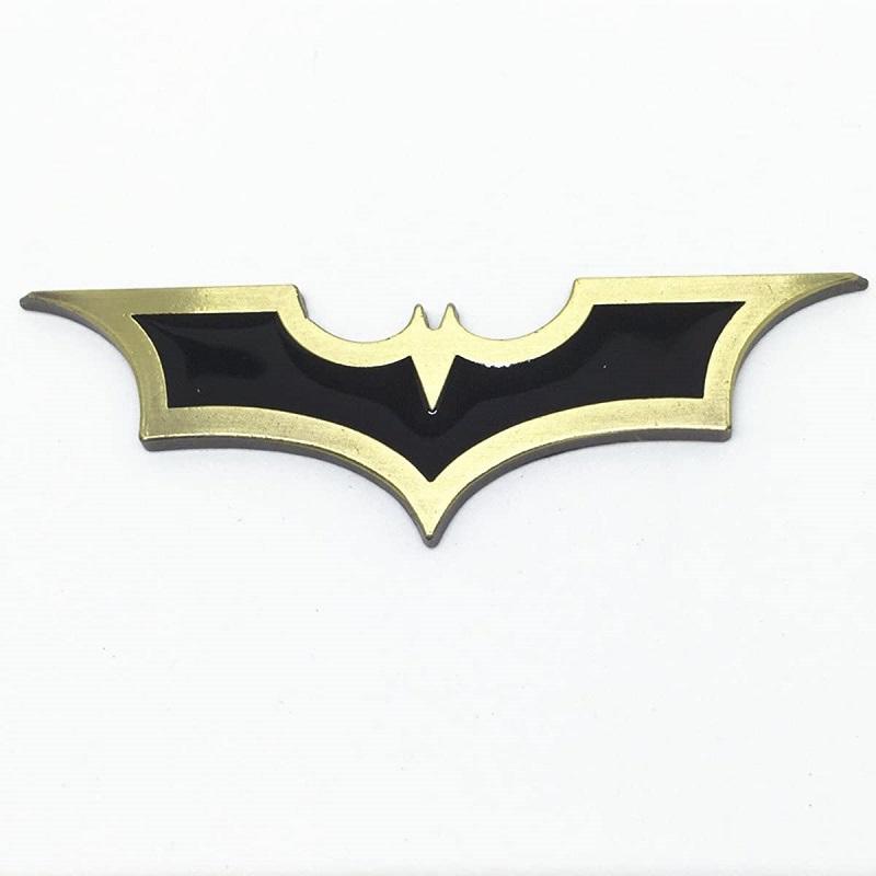 3D Metal Bat Batman Logo