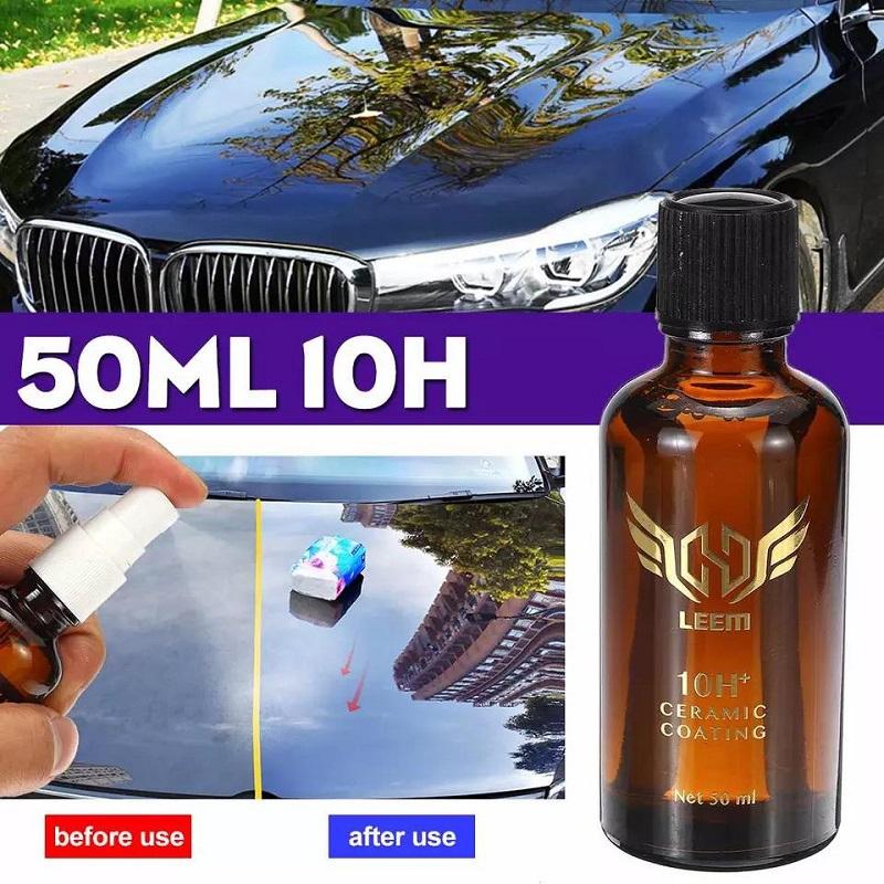 LeeM10H Automotive Nano Ceramic Paint Care Super Hydrophobic Coating 40 ML