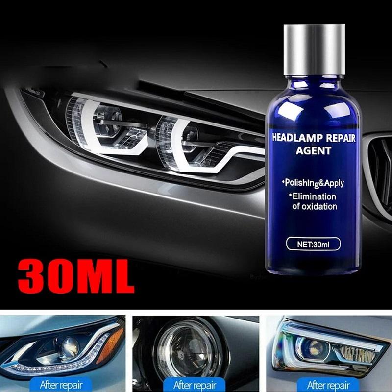 30ML Car Headlight Restoration Repair Coating Solution Repair Kit