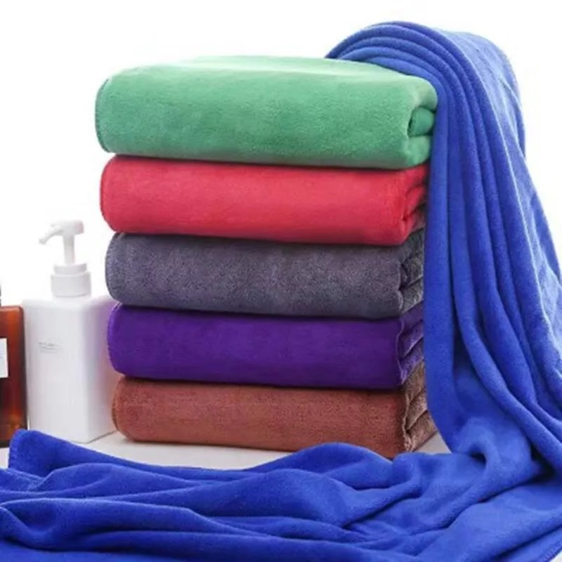 Pack of 5 Thicken Car Care Microfiber Cleaning Towel 30 Cm * 70 Cm
