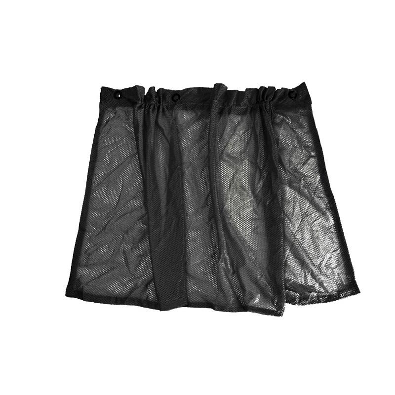 Pack of4 Car Sun Shade Side Window Curtain Auto Car Curtain Car UV Protection Sun Shade Curtains Side Window Visor Mesh Cover - Black