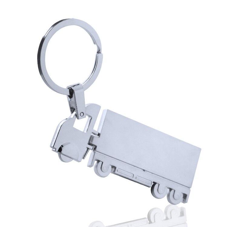 Truck Metal Key Chain