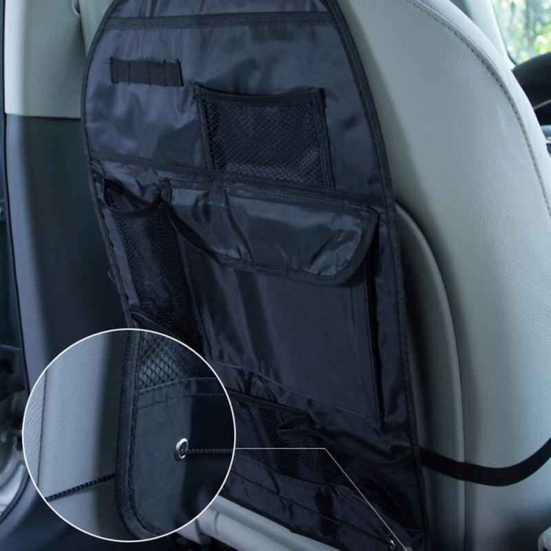 Car Back Seat Storage Organizer Trash Net Holder Multi-Pockets