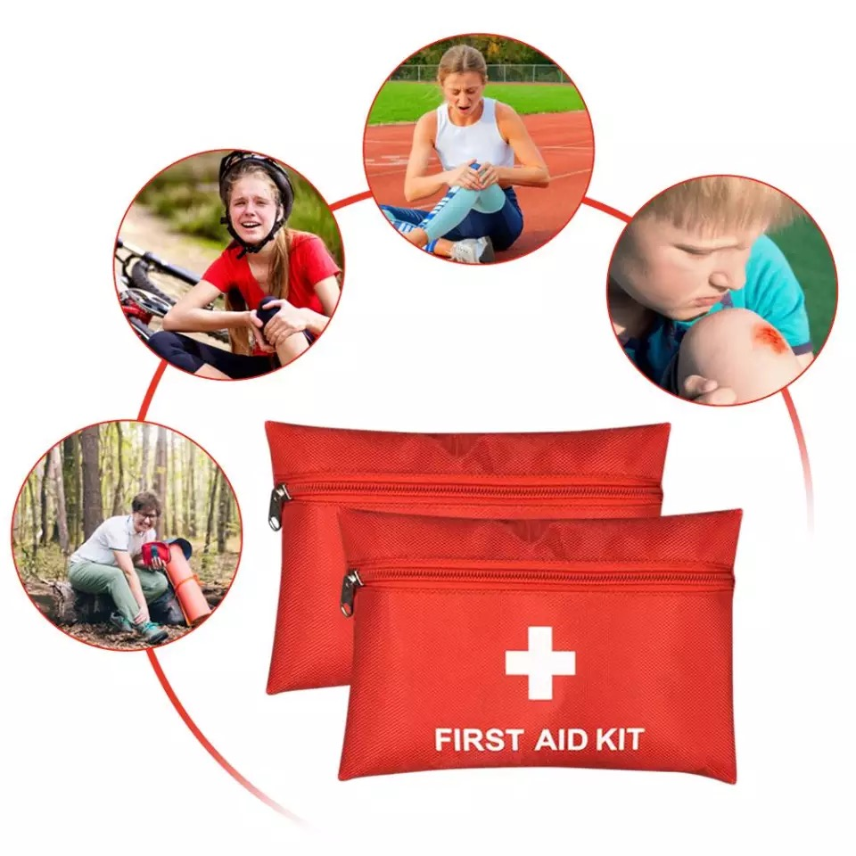 First Aid Emergency Medicine Bag Outdoors Camping Pill Travel Rescue Case Bag Survival Organizer Emergency Kits Package
