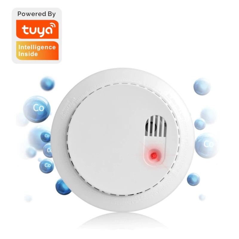 Tuya Carbon Monoxide Smoke Detector