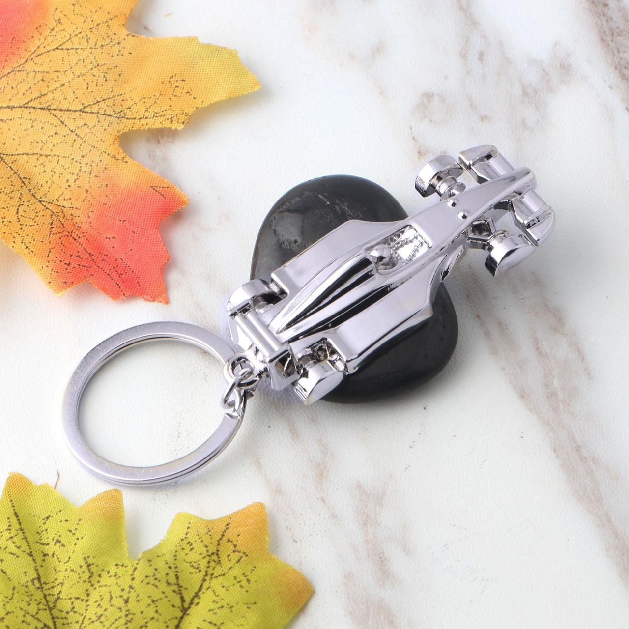 3D Racing Car Key Chain