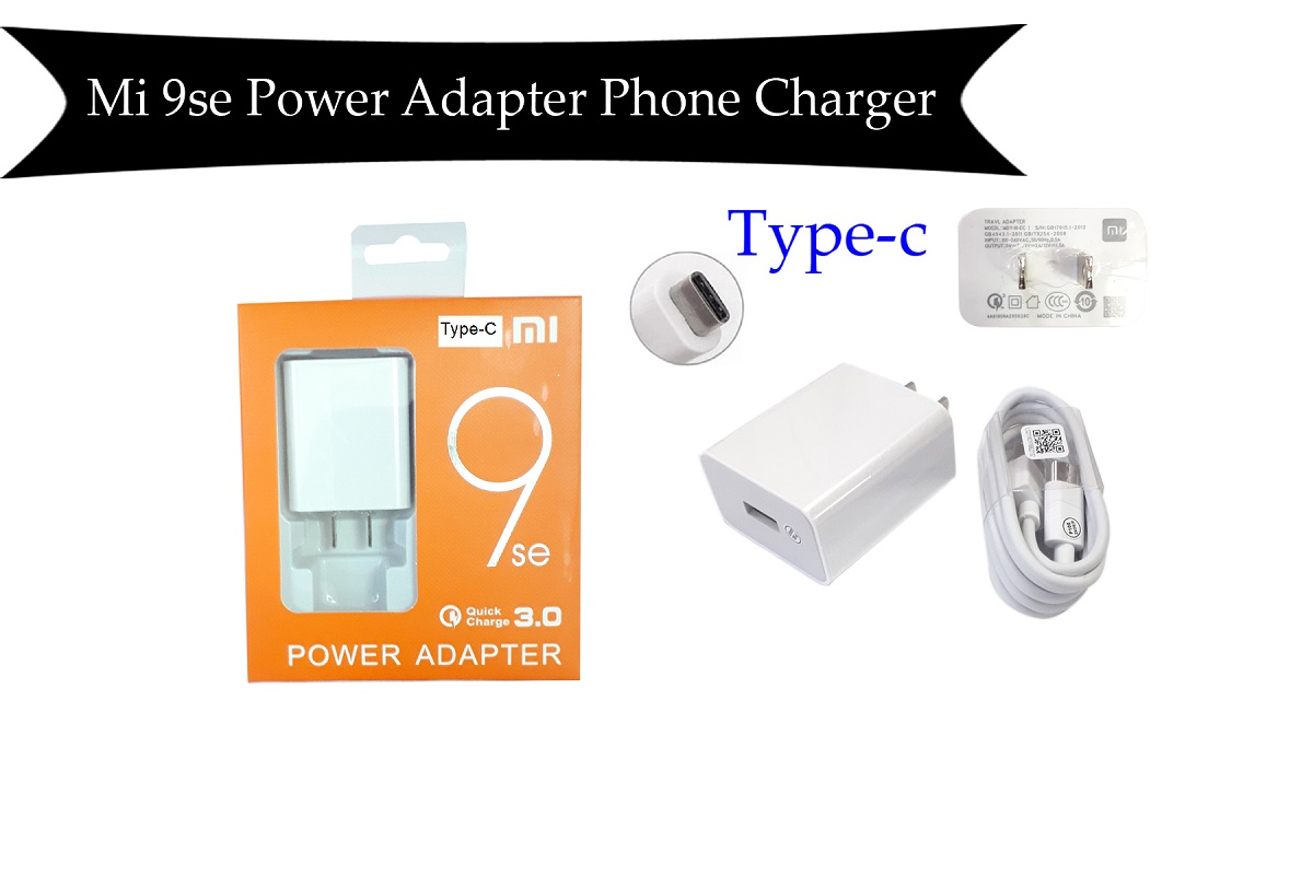 Mi 9se Type-C Power Adapter Phone Charger