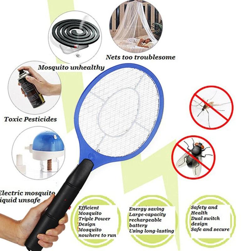 Rechargeable Racket Shape Mosquito Killer