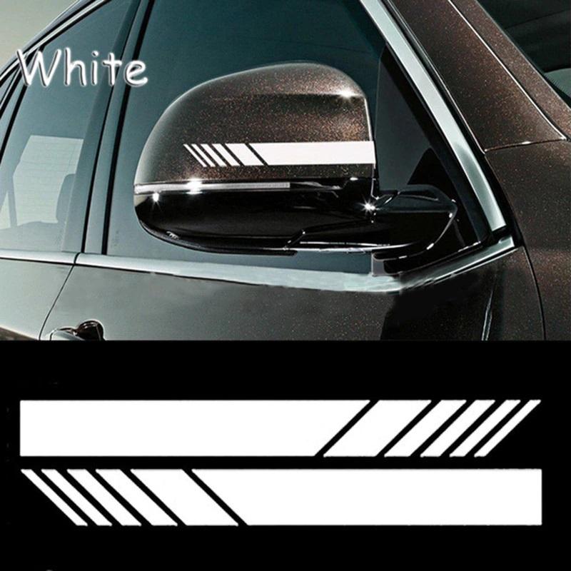Universal 2pcs Car Side Mirror Sticker