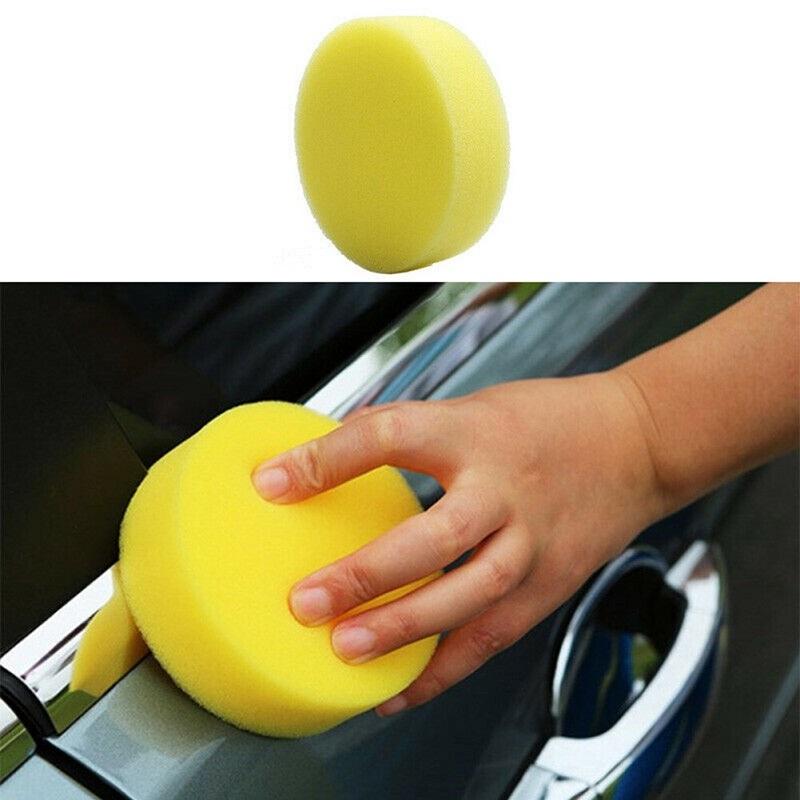 6 Pcs Universal Wax Sponge Applicator Pad