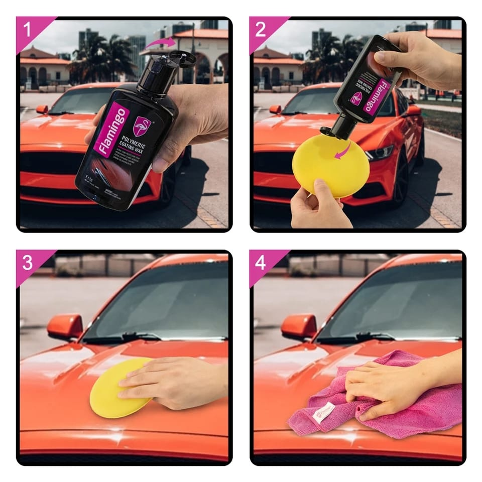 Flamingo Polymeric Car Coating Wax