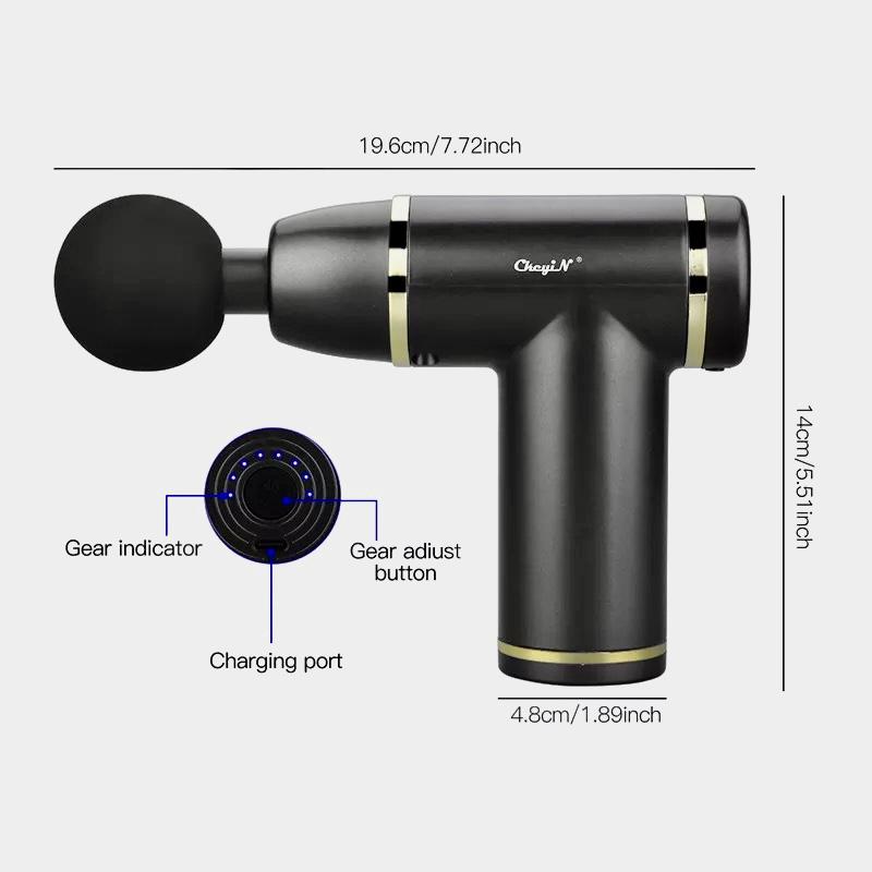 Portable Rechargeable Deep Tissue Massage Gun SK-168