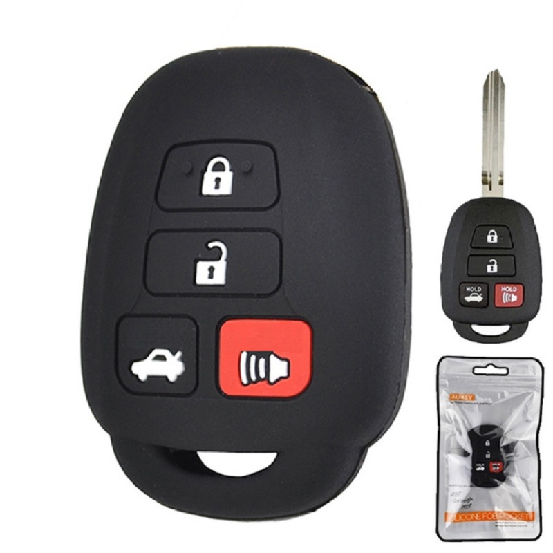 To-yota Corolla Silicone Key Cover 4 Button