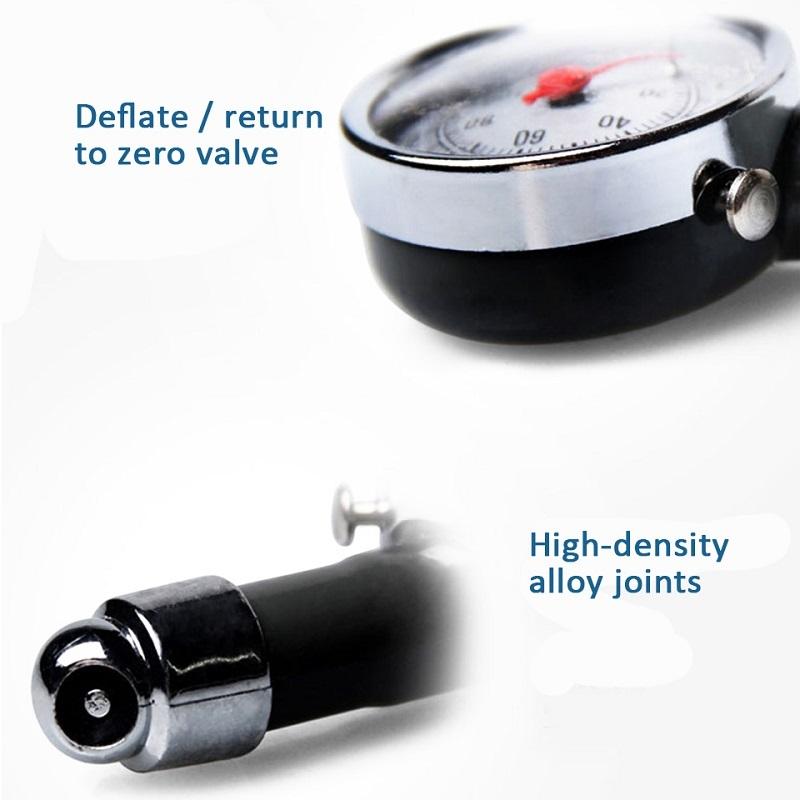 Car Analog Tire Pressure Gauge