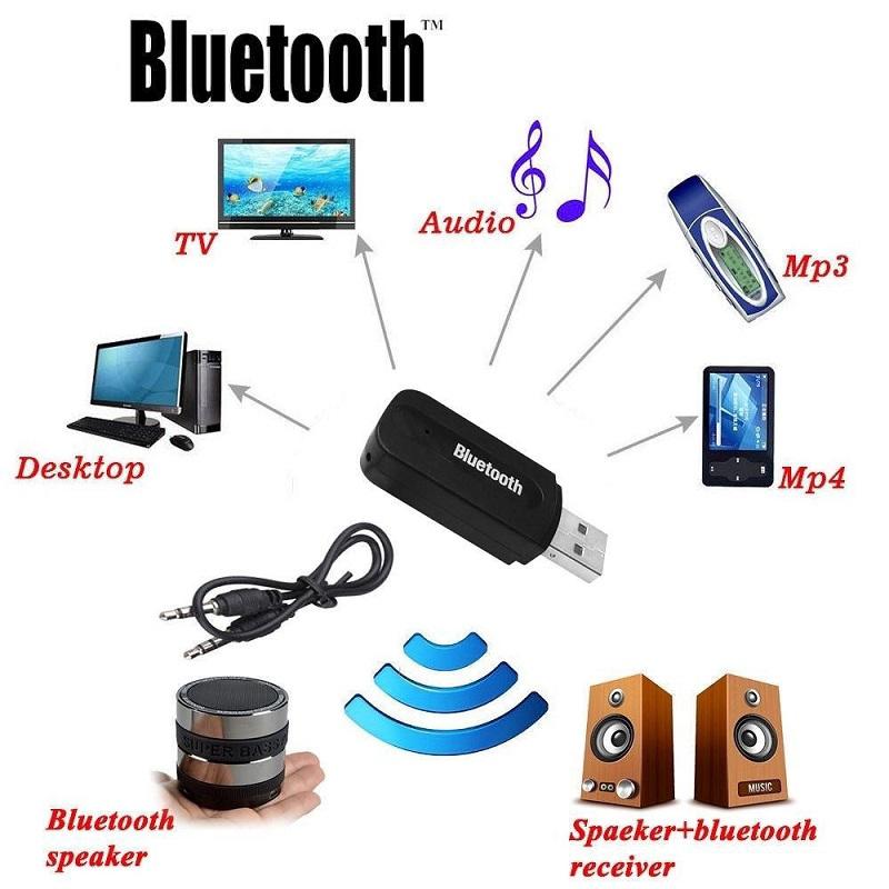 Bluetooth Car Kit Audio USB Bluetooth Receiver