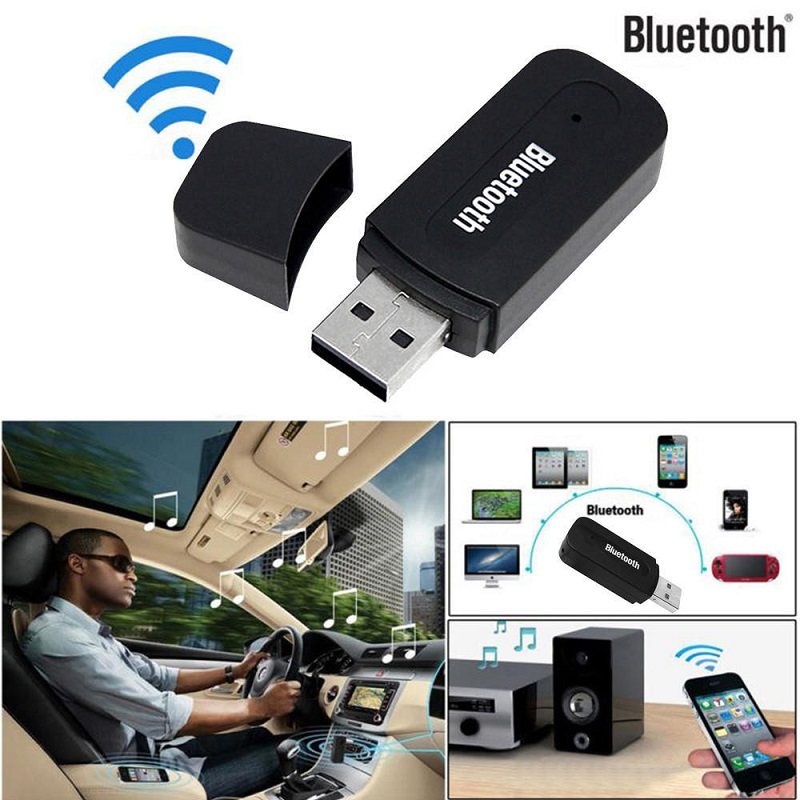 Bluetooth Car Kit 2.1 + EDR Audio Receiver USB Bluetooth