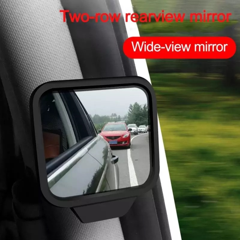 Car Adjustable Side Rear View Blind Spot Mirror