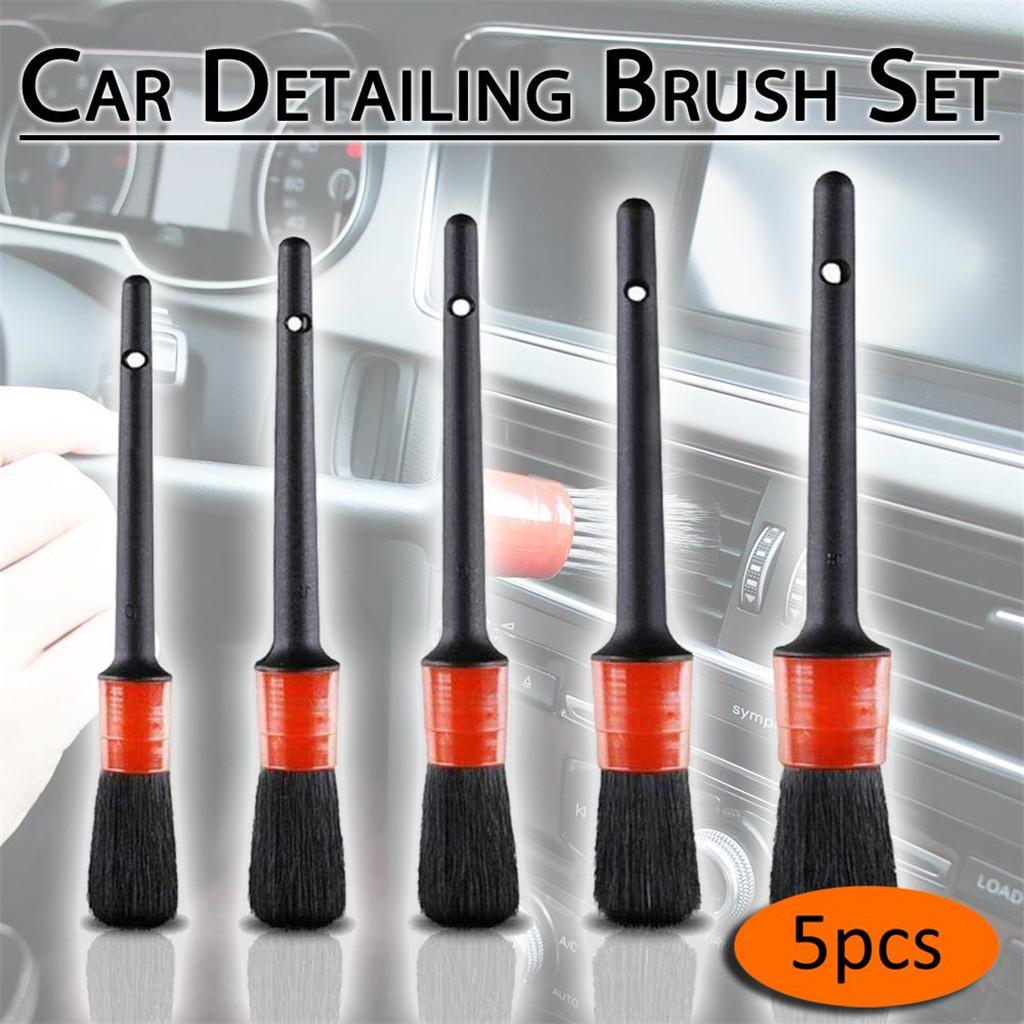 Pack Of 11 Car Detail Brush Cleaning Set