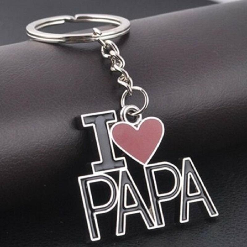 I LOVE PAPA Key Chain, Key Holder