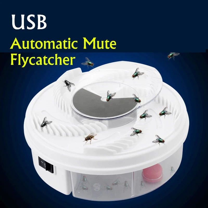 Automatic Usb Electric Flycatcher