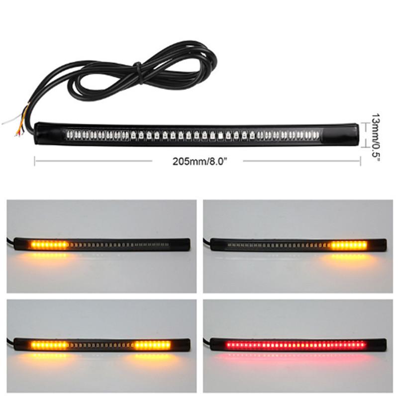 LED Lights Motorcycle Lights Brake Lights Turn Waterproof